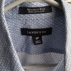 LANDS END- Classic No Iron (nwot)